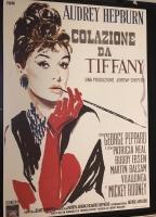 Colazione da Tiffany manifesto 100X140 (ristampa tirat.limit.)