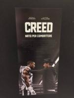 Creed Stallone locandina cm. 33x70