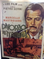DIVORZIO ALL'ITALIANA Poster Film cm. 60x83 RARITA'