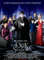 Dark Shadows Tim Burton (2012)  Locandina Poster Origin.35X70