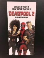 Deadpool 2 Locandina Originale cm. 33x70