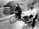 Don Camillo e Peppone bicicletta foto poster 20x25