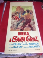 Duello a Santa Cruz 1964 locandina cinema 35x70
