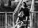 Dustin Hoffman marciapiede scala  foto poster 20x25