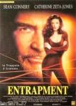 poster cinema ENTRAPMENT maxi