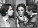 Effetto Notte Truffaut backstage foto poster 20x25