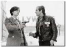 Effetto Notte Truffaut backstage scena2 foto poster 20x25