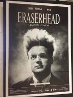 Eraserhead David Lynch (vers. rest. 2017) MANIFESTO 100x140