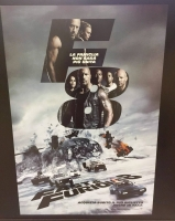 Fast & Furious 8 (2017) Poster 70x100