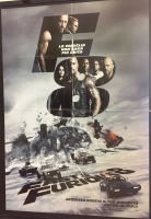 Fast & Furious 8 (2017) Poster maxi CINEMA 100X140
