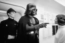 Foto di scena Guerre Stellari Darth Vader, Leia cm. 20x25