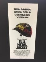 Full Metal Jacket - Ristampa digitale Locandina 33X70