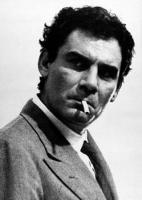 Gian Maria Volontè posa sigaretta foto poster 20x25