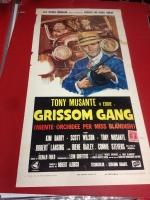 Grissom Gang 1971 locandina cinema 35x70