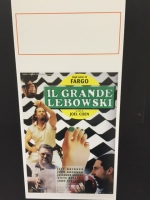 IL GRANDE LEBOWSKI - Locandina Poster 33X70 Ristampa Ed. Limitat
