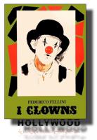 I CLOWNS Fellini POSTER 70x100 Non Piegato!