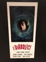 I Diabolici (1954) loc.33x70 ristampa digitale