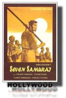 I SETTE SAMURAI A.Kurosawa POSTER 70x100 Non Piegato!
