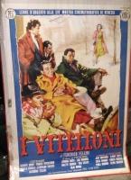 I VITELLONI F.Fellini POSTER 70x100 Non Piegato!