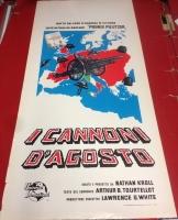 I cannoni d'agosto 1965 locandina cinema 35x70