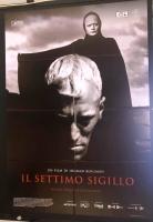 Il Settimo Sigillo - Bergman (vers. rest. 2018) MANIFESTO 100x14