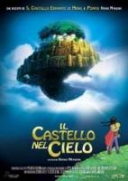 Il castello nel cielo - Miyazaki H. locandina originale 33x70