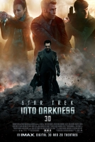 Into Darkness Star Trek 3D Poster