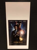 Iron Man (2008) Locandina cm. 33X70 prima edizione