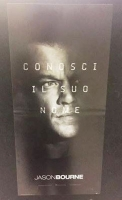 Jason Bourne (2016) locandina originale cm. 33x70