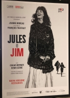 Jules e Jim (vers. rest. 2019) MANIFESTO 100x140