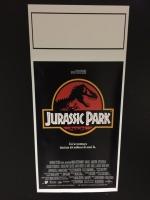 Jurassic Park locandina 33X70 digitale tiratura limitata