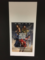 Justice League (2017) Locandina originale 33x70
