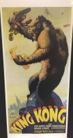 King Kong (1933) loc.33x70 digitale tiratura limitata