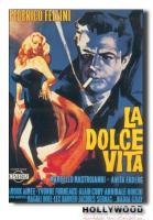 LA DOLCE VITA Fellini POSTER 70x100 Non Piegato!