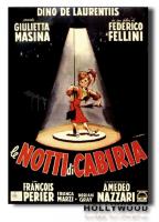 LE NOTTI DI CABIRIA F.Fellini POSTER 70x100 Non Piegato