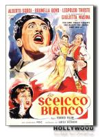 LO SCEICCO BIANCO F.Fellini POSTER 70x100 Non Piegato!
