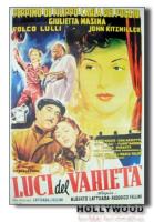 LUCI DEL VARIETA' Fellini POSTER 70x100 Non Piegato!