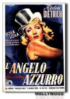 L'ANGELO AZZURRO M.Dietrich POSTER 70x100 Non Piegato!