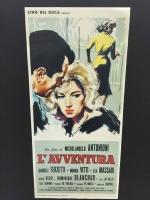 L'Avventura di M. Antonioni loc.33x70 digitale tiratura limitata
