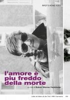 L'amore è più freddo della morte (DVD) di R.W.Fassbinder