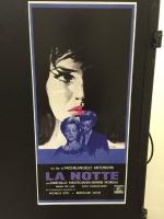 La Notte di M. Antonioni loc.33x70 digitale tiratura limitata