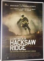 La battaglia di Hacksaw Ridge (2017) manifesto cm. 100X140