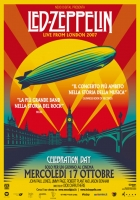 Led Zeppelin Celebration Day Locandina Origin.33x70