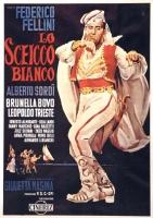 Lo Sceicco Bianco Fellini Sordi locandina cm. 33x70