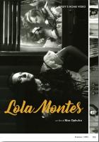 Lola Montes (1955 - vers. restaurata) di M.Ophuls