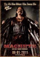 MACHETE Rodriguez poster film CINEMA 100X140