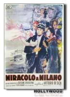 MIRACOLO A MILANO V.De Sica POSTER 70x100 Non Piegato!