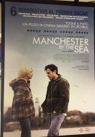 Manchester by the Sea (2017) poster maxi CINEMA cm. 100X140