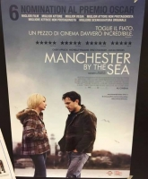 Manchester by the Sea (2017)  Poster cm. 70x100