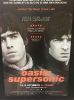 OASIS: Supersonic (2016) man. 100x140